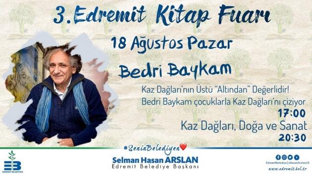 BedriBaykam_EdremitKitapFuarı_13_08_2019