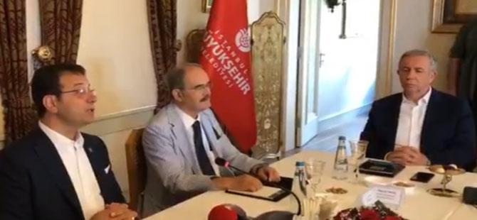 CHP'li başkanlar İstanbul'da toplandı!