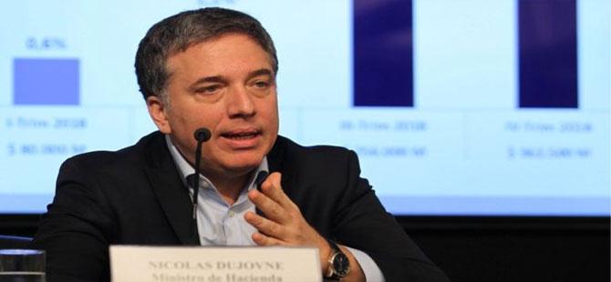 Peso'daki değer kaybının sürdüğü Arjantin'de Ekonomi Bakanı Dujovne istifa etti