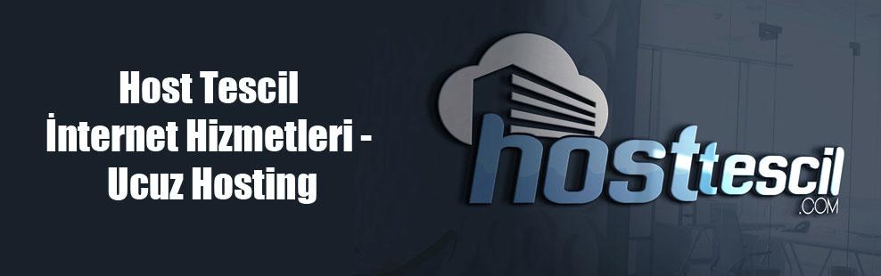 Host Tescil İnternet Hizmetleri – Ucuz Hosting
