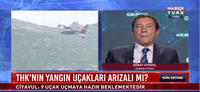 Bakanın sözlerini 20 yıllık söndürme pilotu yalanladı