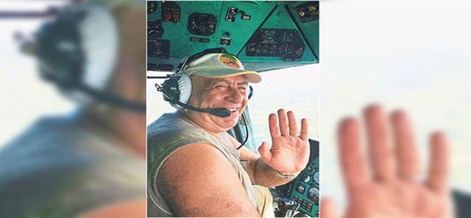 İzmir yangınında görev alan helikopter pilotu, otel odasında ölü bulundu