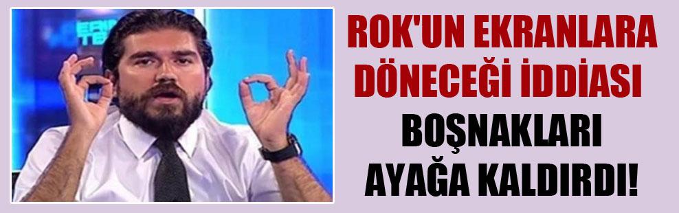 ROK'un ekranlara döneceği iddiası Boşnakları ayağa kaldırdı!