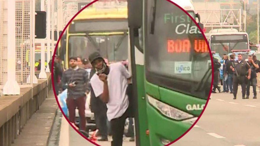 Brezilya'da otobüs kaçırıldı