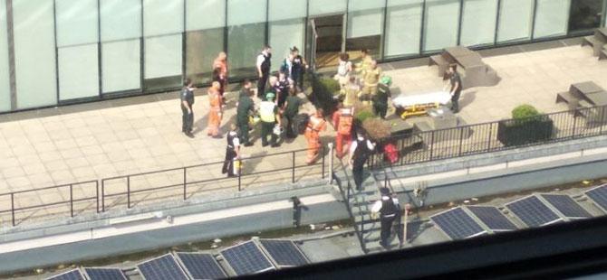 Altı yaşında bir çocuk 10. kattan 'atıldı'
