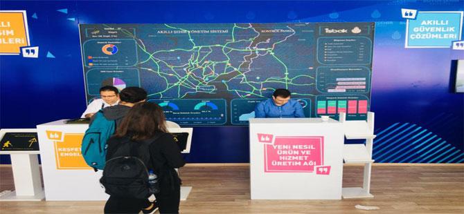 İBB'nin 'Akıllı Şehir' projeleri TEKNOFEST 2019'da