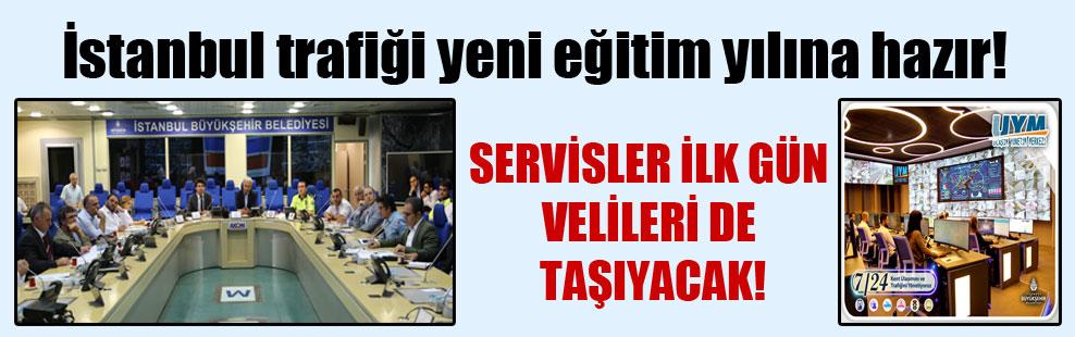 İstanbul trafiği yeni eğitim yılına hazır!