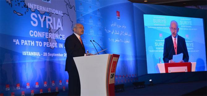 Kılıçdaroğlu: 90 yıllık dış politikamız perişan edildi, Ortadoğu'ya mezhep eksenli bakılıyor