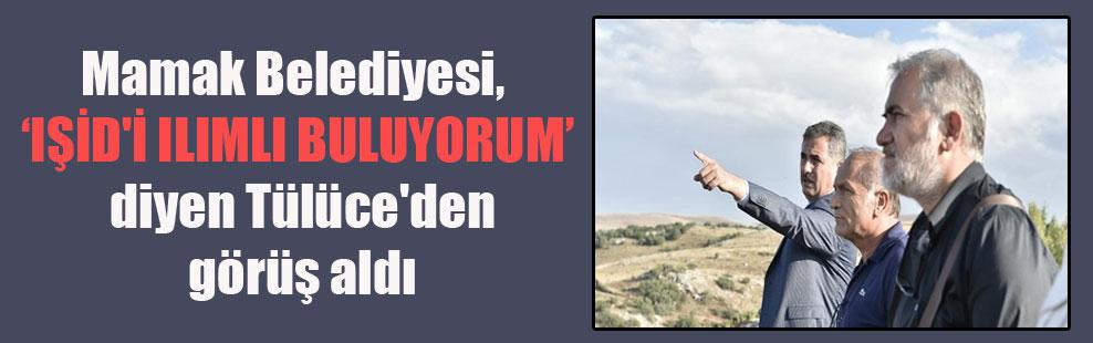 """Mamak Belediyesi, """"IŞİD'i ılımlı buluyorum"""" diyen Tülüce'den görüş aldı"""