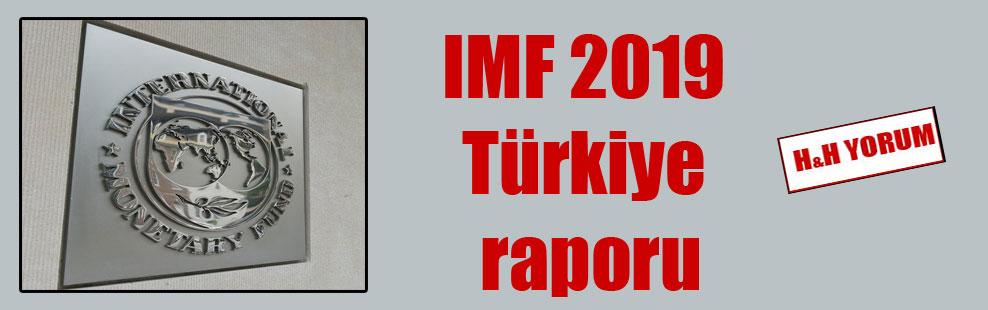 IMF 2019 Türkiye raporu