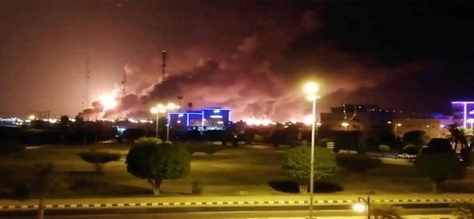 Suudi Arabistan'da petrol tesisi saldırıları: ABD, İran'ı suçladı