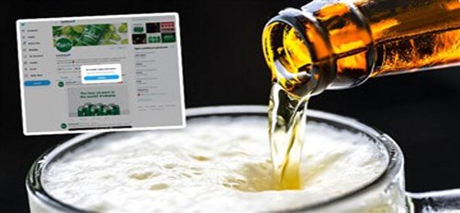 İçki markalarının Twitter hesaplarına takip engeli