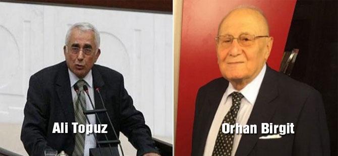 Ali Topuz ve Orhan Birgit'e veda!