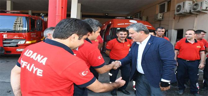 CHP'li Barut'tan itfaiyeciler için yasa teklifi