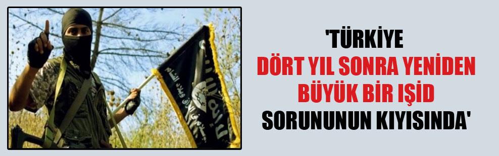 'Türkiye dört yıl sonra yeniden büyük bir IŞİD sorununun kıyısında'