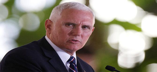 ABD Başkan Yardımcısı Mike Pence İran'ın mesajını açıkladı!