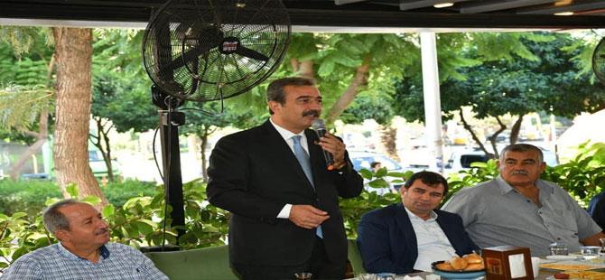 Soner Çetin: Muhtarlar belediyemizin gönüllü temsilcileri