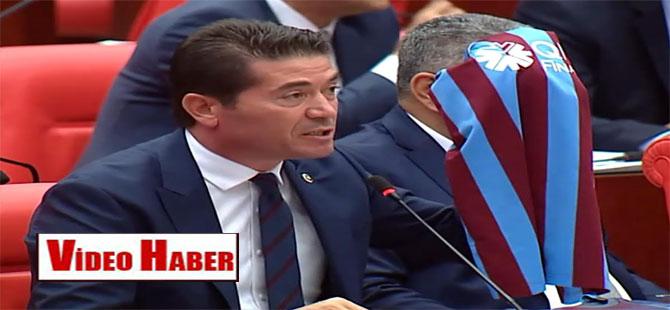 CHP'li Kaya Meclis'ten seslendi: Trabzonsporlular olarak temiz futbol istiyoruz