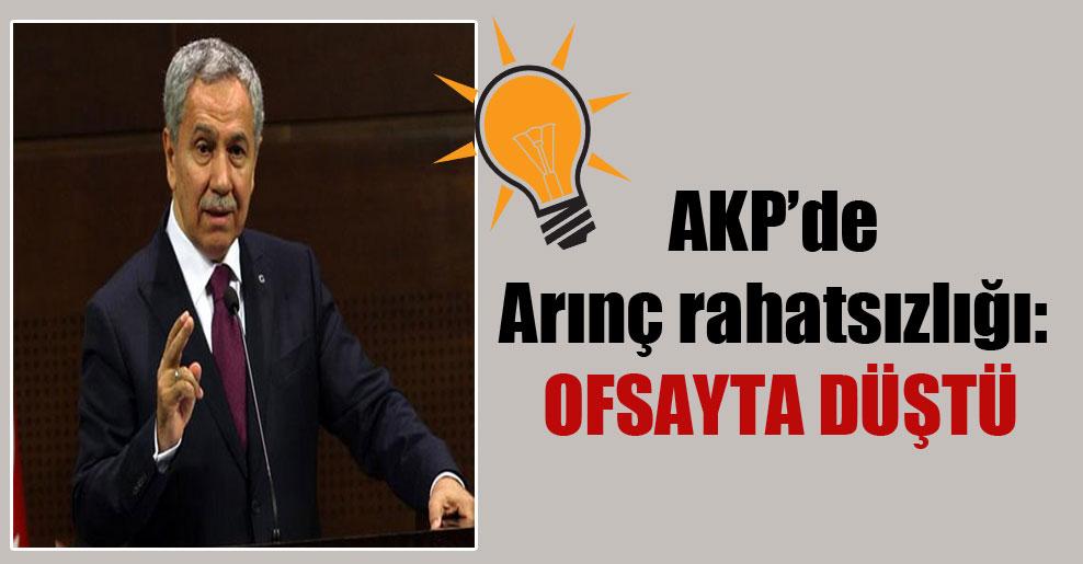 AKP'de Arınç rahatsızlığı: Ofsayta düştü