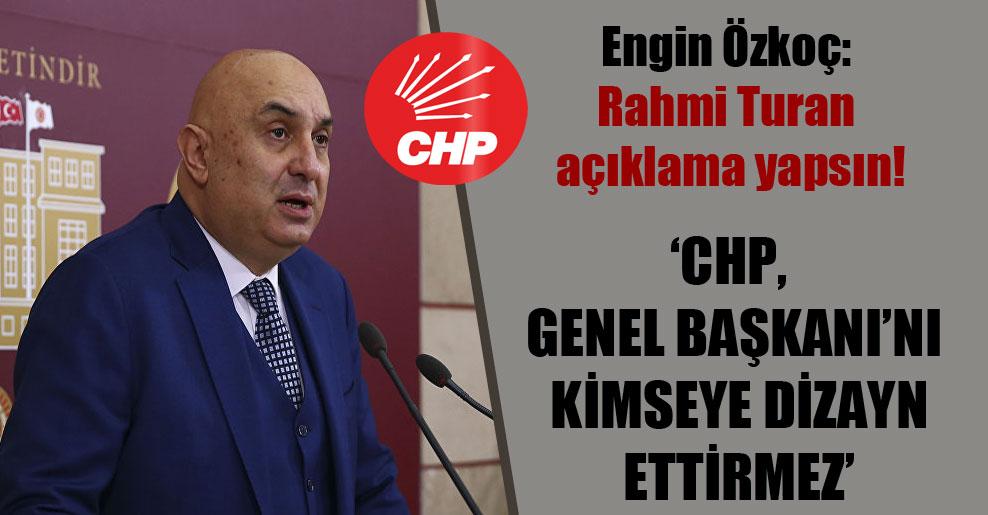 Engin Özkoç: Rahmi Turan açıklama yapsın!