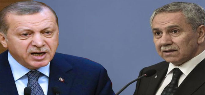 Erdoğan'dan Arınç'a sert sözler!