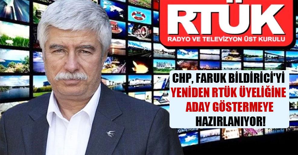CHP, Faruk Bildirici'yi yeniden RTÜK üyeliğine aday göstermeye hazırlanıyor!