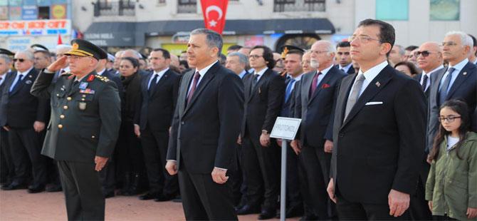 'Ulu önder Gazi Mustafa Kemal Atatürk'ü hasret ve minnetle, milletçe anıyoruz'