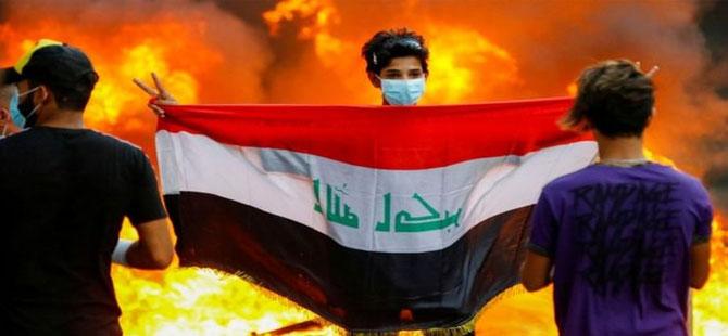 Bağdat'ta protestocular Başbakanlık ofisine yürümek istedi, en az 4 kişi hayatını kaybetti