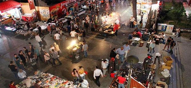 Ankara Kızılay'da 'akşam pazarı' yasaklandı