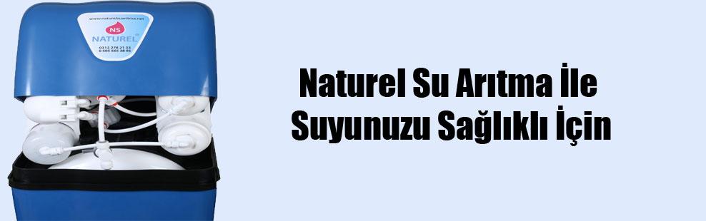 Naturel Su Arıtma İle Suyunuzu Sağlıklı İçin