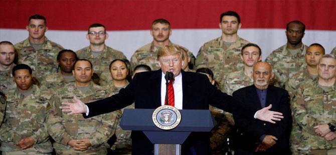 Trump: Suudi Arabistan'a 12 bin asker göndereceğimiz yönündeki haberler yalan