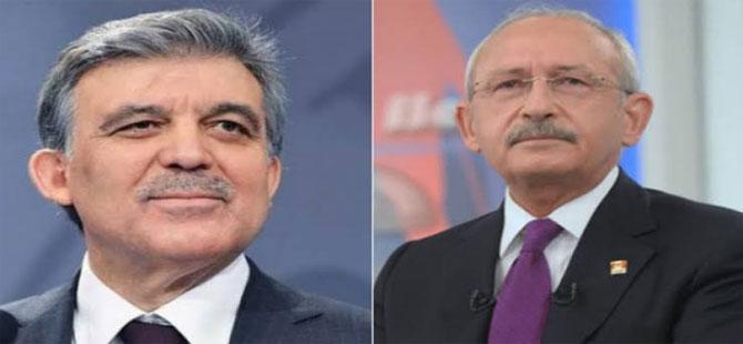 'Kılıçdaroğlu Gül'e 2023 için söz verdi' iddiası