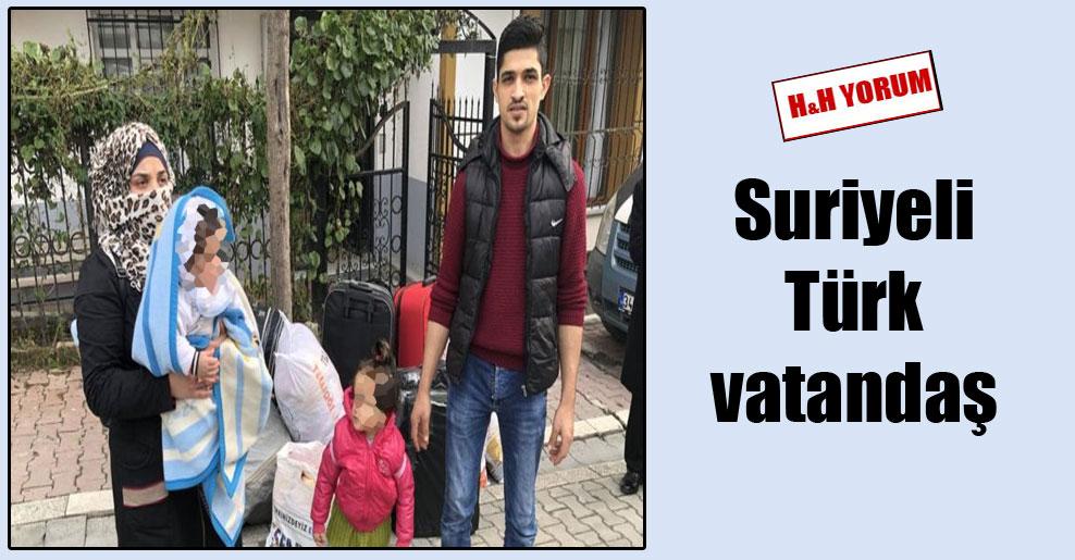 Suriyeli Türk vatandaş