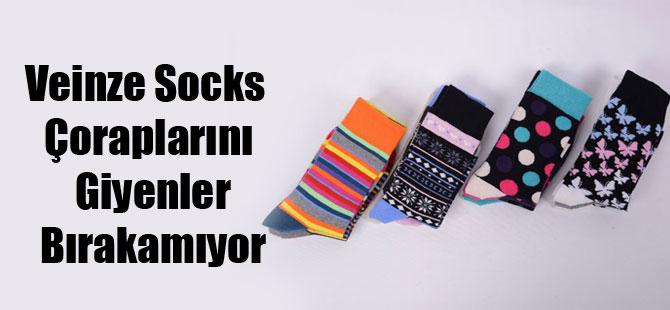 Veinze Socks Çoraplarını Giyenler Bırakamıyor