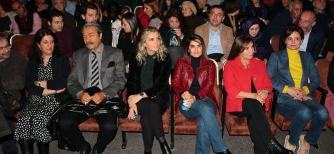 Demirtaş'ın Devran'ını Başak Demirtaş, Dilek İmamoğlu ve Selvi Kılıçdaroğlu birlikte izledi