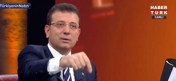İmamoğlu: Kanal İstanbul'u savunacak bir tane bilim insanı bulamadım!