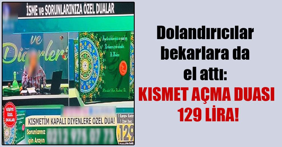 Dolandırıcılar bekarlara da el attı: Kısmet açma duası 129 lira!