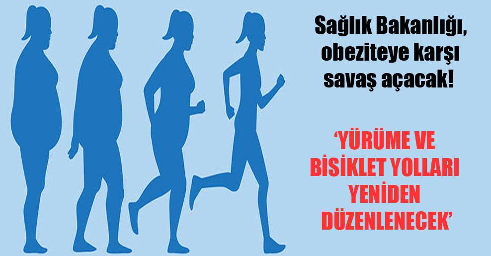 Sağlık Bakanlığı, obeziteye karşı savaş açacak!