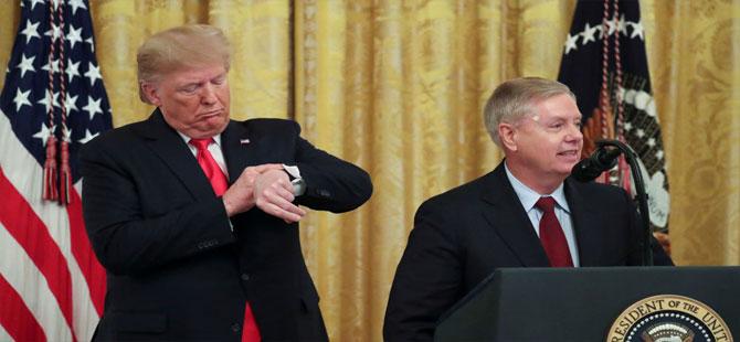 ABD'li Senatör Graham: Trump'ın Senato'daki yargı işlemlerine haftaya başlanacak