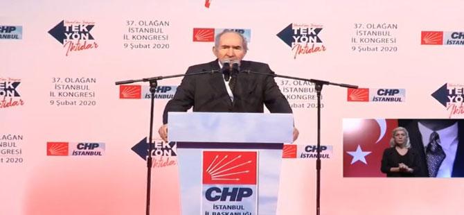 CHP İstanbul İl Kongresi'nde Divan Başkanı belli oldu