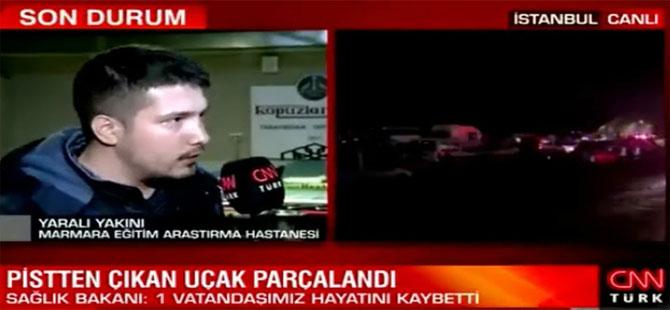 İmamoğlu'nun adı geçince CNN Türk mikrofonu çekti