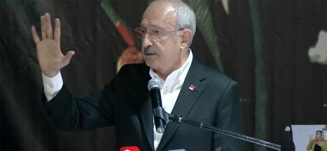 Kılıçdaroğlu CHP Ankara İl Kongresi'nde! 'Türkiye'nin 5 temel sorunu var'