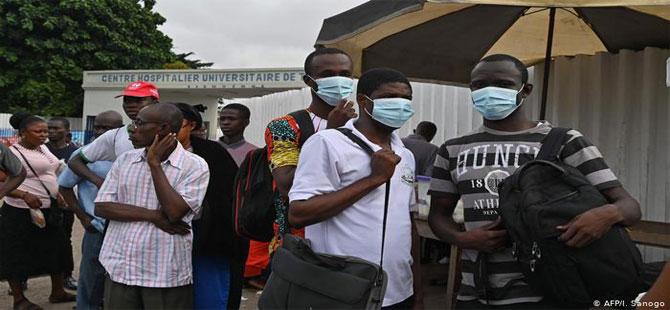 Afrika için koronavirüs endişesi büyük