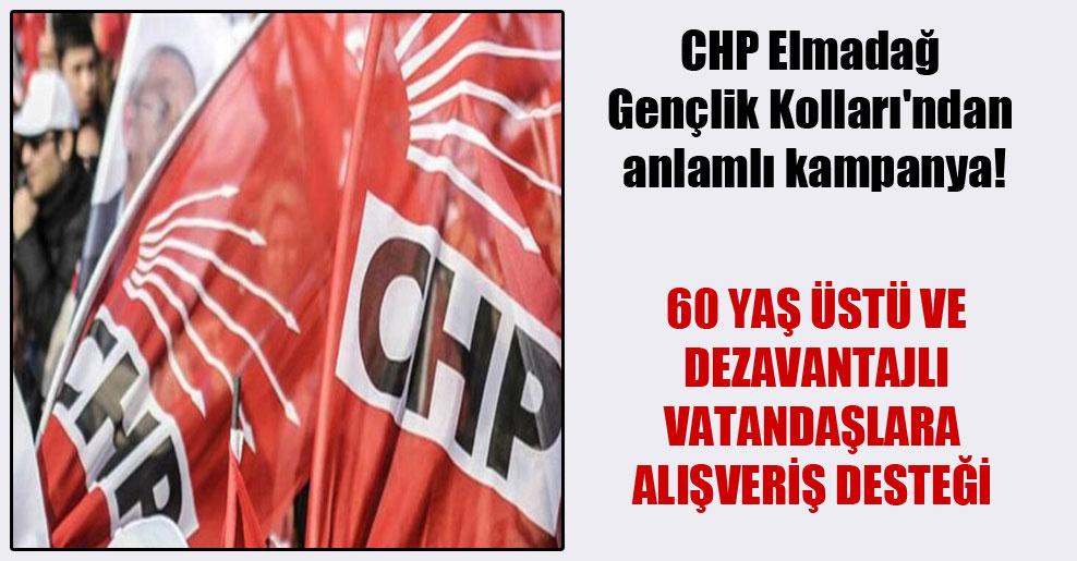 CHP Elmadağ Gençlik Kolları'ndan anlamlı kampanya!