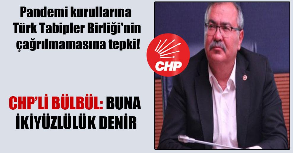 Pandemi kurullarına Türk Tabipler Birliği'nin çağrılmamasına tepki!