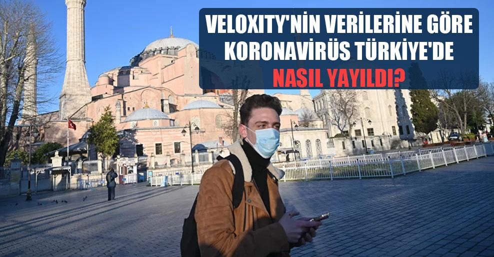 Veloxity'nin verilerine göre koronavirüs Türkiye'de nasıl yayıldı?