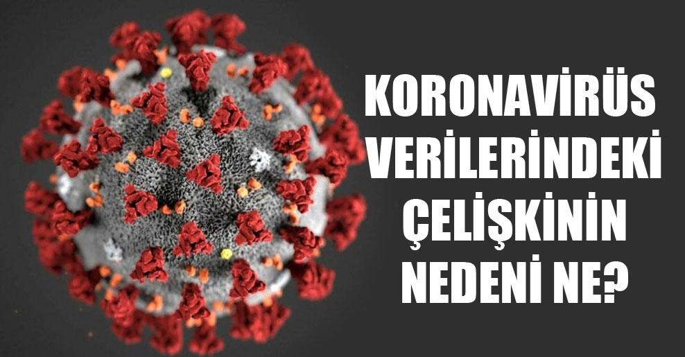 Koronavirüs verilerindeki çelişkinin nedeni ne?