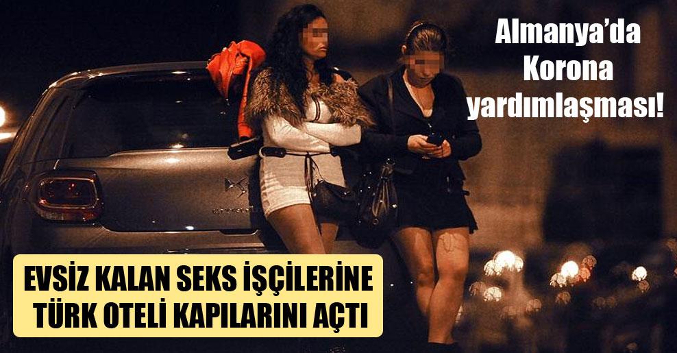 Almanya'da Korona yardımlaşması! Evsiz kalan seks işçilerine Türk oteli kapılarını açtı