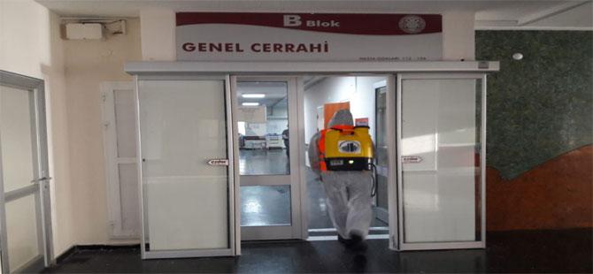 İbn-i Sina Hastanesine hijyenik temizlik!