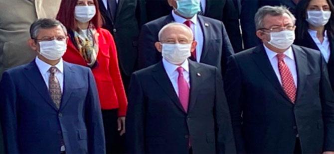 Kılıçdaroğlu ve CHP'li vekiller Ata'nın huzuruna çıktı